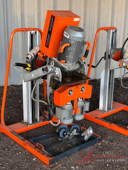 STEELMAX SM-DBM50 PIPE BEVELING MACHINE