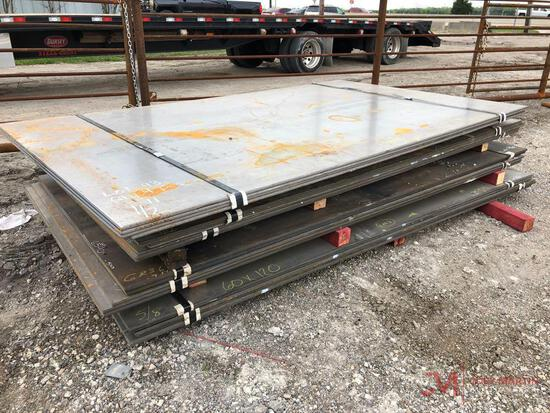 NEW STEEL ROAD PLATES