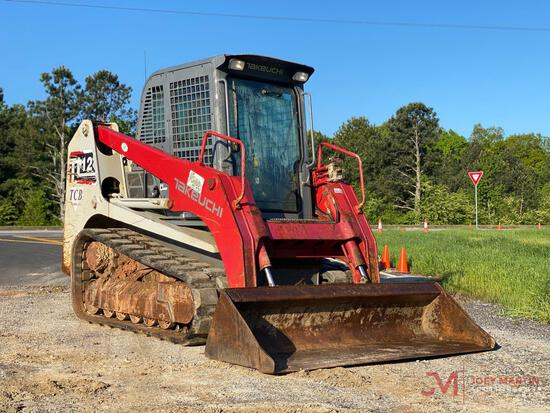 2014 TAKEUCHI TL12 MULTI TERRAIN LOADER