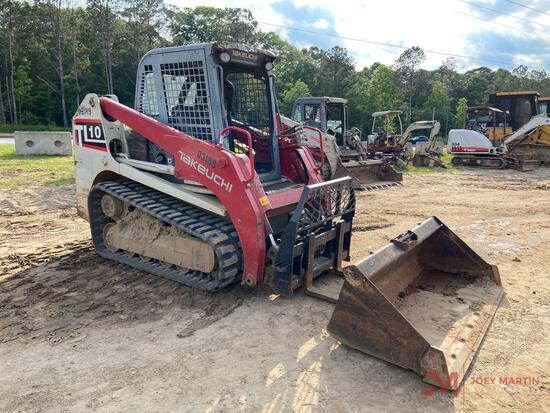 2015 TAKEUCHI TL10 MULTI TERRAIN LOADER