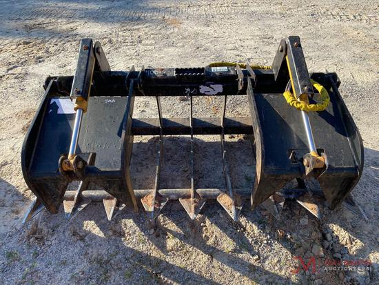 "74"" HYDRAULIC BRUSH GRAPPLE"