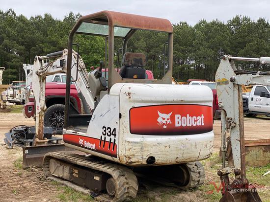 2006 BOBCAT 334 MINI EXCAVATOR