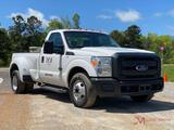 2015 FORD F350 XL S.D. DUALLY