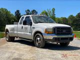 2000 FORD F350 XLT S.D. EXTENDED DUALLY