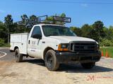 1999 FORD F250 XL S.D. SERVICE TRUCK