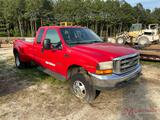 2000 FORD F350 XLT S.D. DUALLY