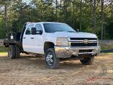 2012 CHEVROLET 3500 FLAT BED TRUCK