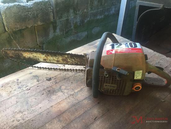 STIHL 029 GAS CHAINSAW