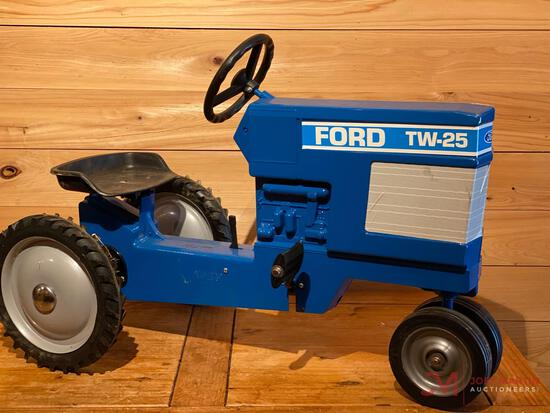 FORD TW-25 PEDAL TRACTOR, TRICYCLE SIGNATURE EDITION (SIGNED BY JOSEPH L. ERTL)
