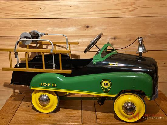 JOHN DEERE FIRE DEPARTMENT NO.5 PEDAL TRUCK