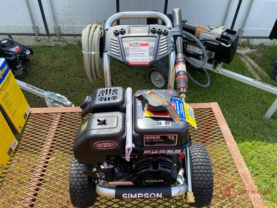 NEW SIMPSON 3200 PSI PORTABLE PRESSURE WASHER