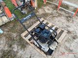 MUSTANG LF88 WALK BEHIND PLATE COMPACTOR, PREDATOR GAS ENGINE