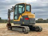 2012 VOLVO ECR58 HYDRAULIC EXCAVATOR
