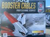 NEW 2 GAUGE 20' BOOSTER CABLES