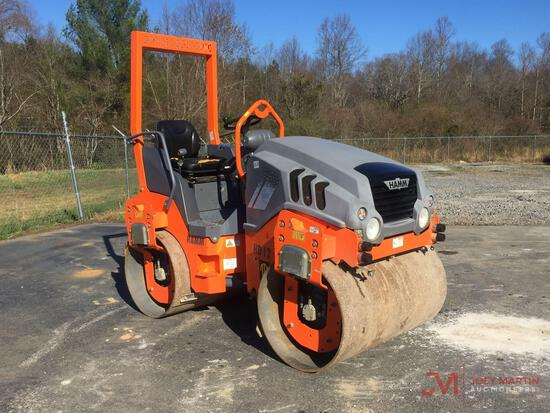 2015 HAMM HD12 VV DOUBLE DRUM ROLLER