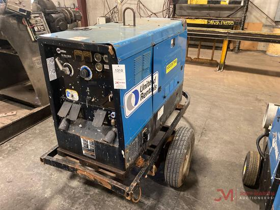 MILLER BIG BLUE 500D TOWABLE DC WELDER/GENERATOR