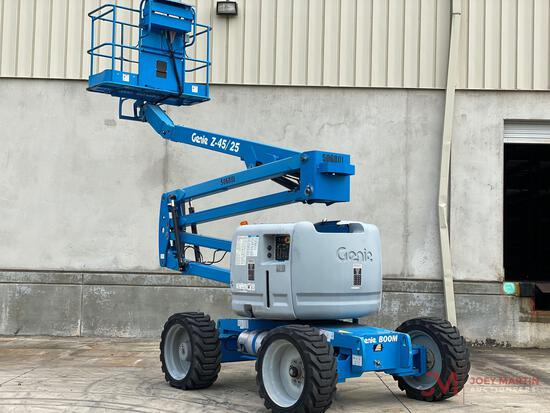 2012 GENIE Z45/25 ARTICULATING BOOM LIFT