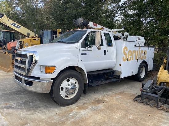 One-Owner Truck and Trailer Auction