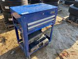 KOBOLT ROLLING TOOL BOX WITH TOOLS
