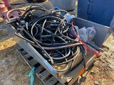 VARIOUS HOSES, STRAPS, TOOLS