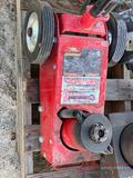 AIR OVER HYDRAULIC ROLLING SERVICE JACK 22 TON