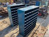 (2) BOLT BINS WITH BOLTS