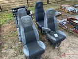 (4) MACK TRUCK SEATS