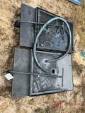 (2) ROLLING CATCH PANS
