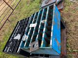 (4) BOLT BINS WITH BOLTS