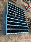 (3) BOLT BINS WITH BOLTS