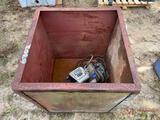 RIDGED ELECTRIC PIPE CUTTER, METAL BOX