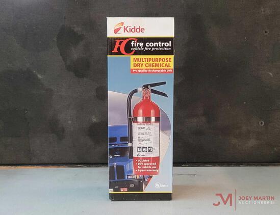 (1) NEW KIDDE MULTI-PURPOSE DRY CHEMICAL FIRE EXTINGUISHER