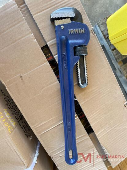 NEW IRWIN 18IN PIPE WRENCH