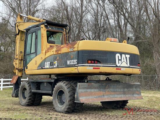 2005 CAT M322C HYDRAULIC WHEEL EXCAVATOR