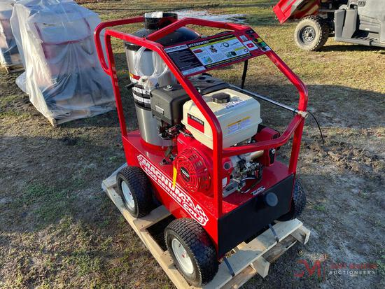 NEW MAGNUM 4000 SERIES GOLD PORTABLE HOT WATER PRESSURE WASHER