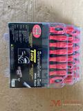 NEW 30 PC TORQ SCREW DRIVER SET WITH RACK