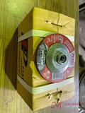 (10) NEW PEARL 4 1/2IN GRINDING WHEELS