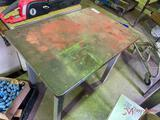 36IN METAL SHOP TABLE