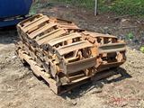 (2) METAL TRACKS FOR SKID STEER