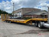 2003 PITTS LB5038 PAVER SPECIAL TRI-AXLE TRAILER