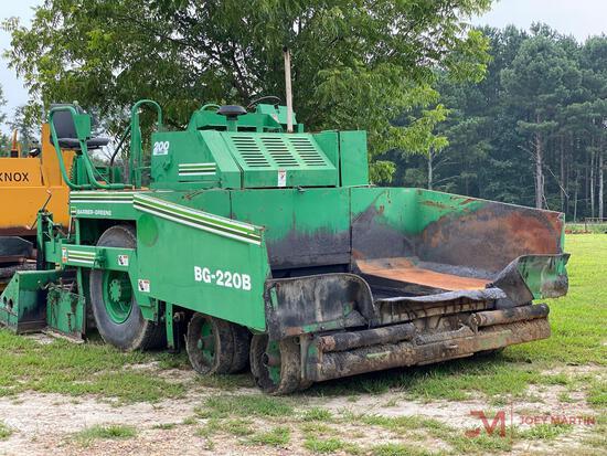 BARBER GREENE BG-220B PAVER