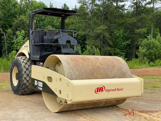 """2005 INGERSOLL RAND PF SERIES 84"""" VIBRATORY SMOOTH ROLLER"""