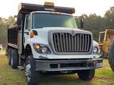 2011 INTERNATIONAL 7400 T/A DUMP TRUCK