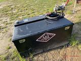 BETTER BUILT FUEL ...TANK/BOX COMBO...W/ ELECTRIC PUMP