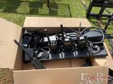 (4) VARIOUS 2-WAY RADIOS W/ CHARGERS