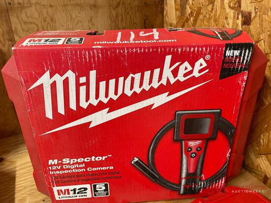 MILWAUKEE M-SPECTOR 12V DIGITAL INSPECTION CAMERA