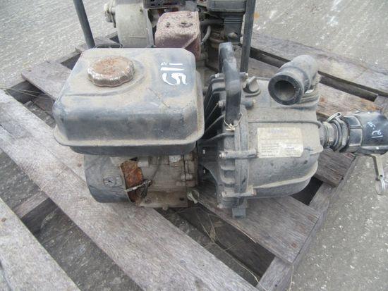 (4119) 2-- Gas Motor Trash Pumps