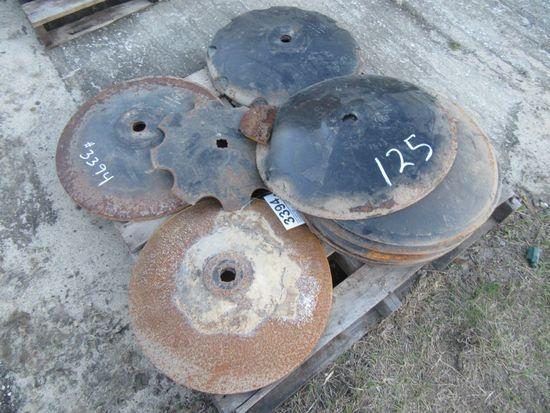 "(3394) Pallet of 22"" Disc"