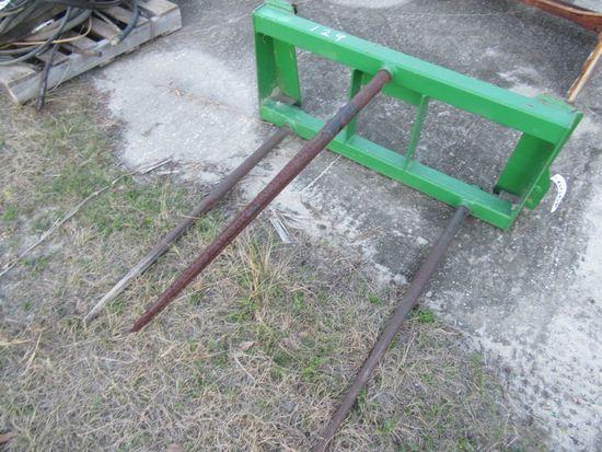 (4959) John Deere Hay Spear Attachment