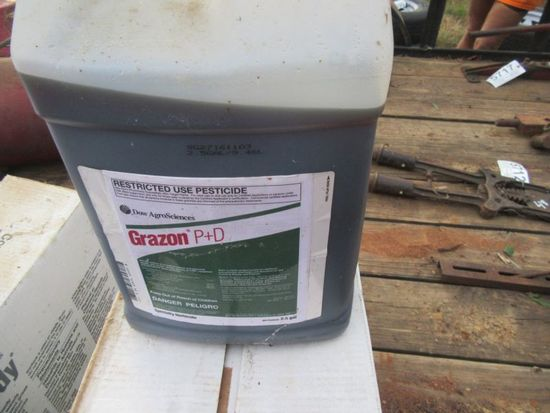 (5724) 7.5 Gallons of Chemicals